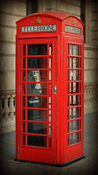 London Phone Booth Wall Art - Photograph - London Calling by Stephen Stookey