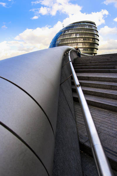 Photograph - London City Hall by Mark Tisdale