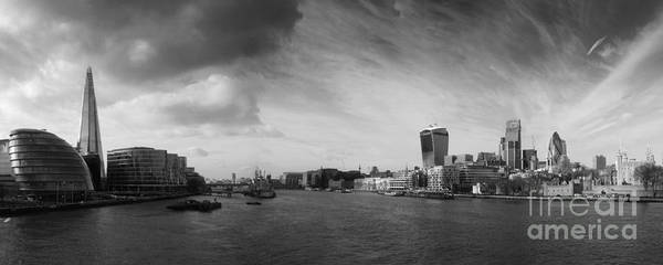 Greater London Photograph - London City Panorama by Pixel Chimp