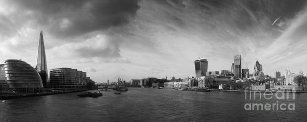 Wall Art - Photograph - London City Panorama by Pixel Chimp