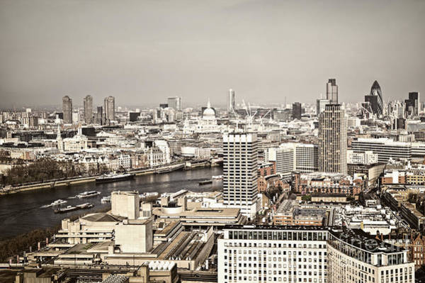 Wall Art - Photograph - London Cityscape by Elena Elisseeva