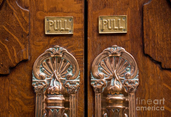 Rick Piper Photograph - London Coliseum Doors 02 by Rick Piper Photography