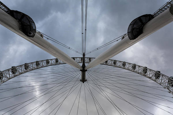 Photograph - London Eye Detail by Paul Indigo