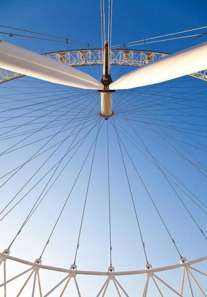 Photograph - London Eye Geometry by Adam Pender