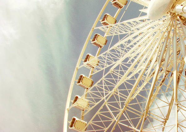 Wall Art - Photograph - London Eye by Violet Gray