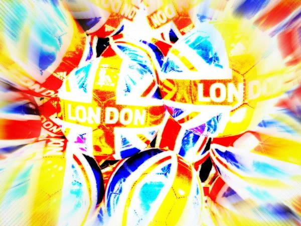 Wall Art - Photograph - London Footballs by Funkpix Photo Hunter