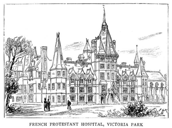 Painting - London French Hospital by Granger