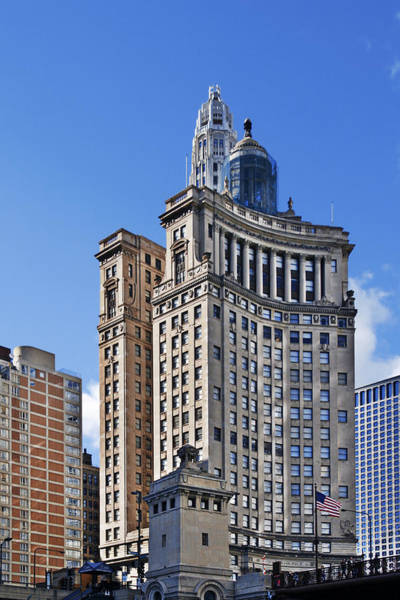 Michigan Ave Photograph - London Guarantee And Accident Building Chicago by Christine Till