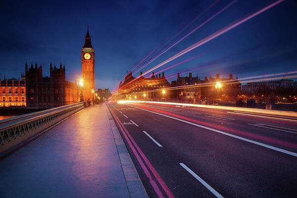 English Culture Photograph - London In The Night by Mammuth