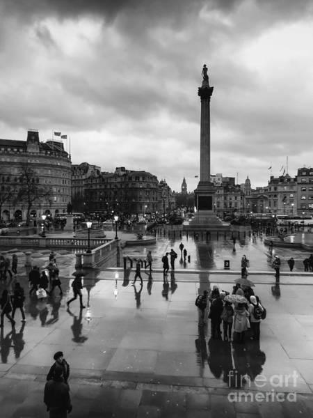 Trafalgar Photograph - London Landmarks by Nigel Jones