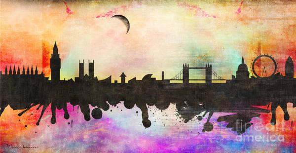 Wall Art - Painting - London by Mark Ashkenazi