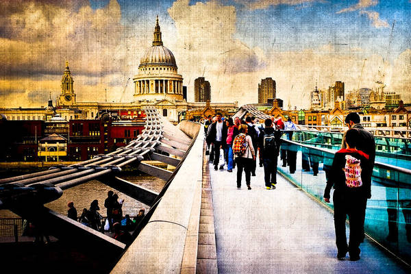 Photograph - London Of My Dreams - St Paul's by Mark Tisdale