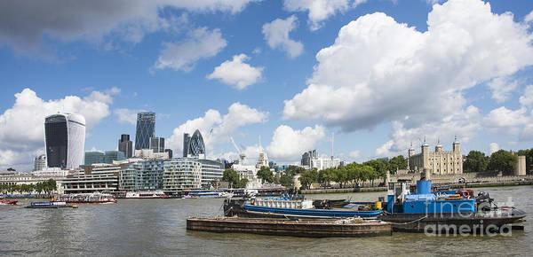 Wall Art - Photograph - London Panoramic by Donald Davis
