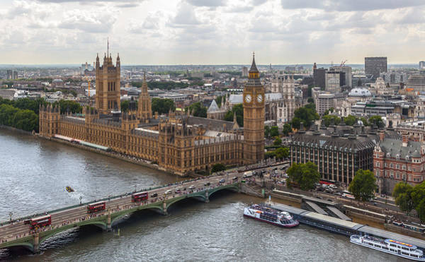 Photograph - London Parliament by Brian Grzelewski