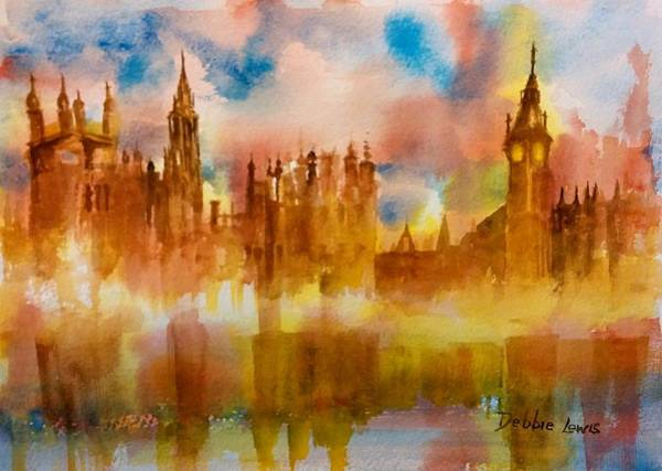 Painting - London Rising by Debbie Lewis