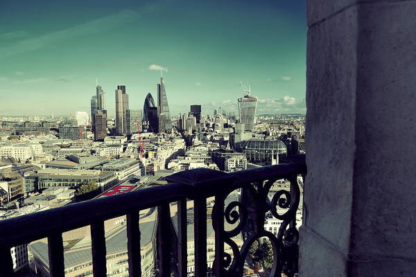 Photograph - London Rooftop by Songquan Deng