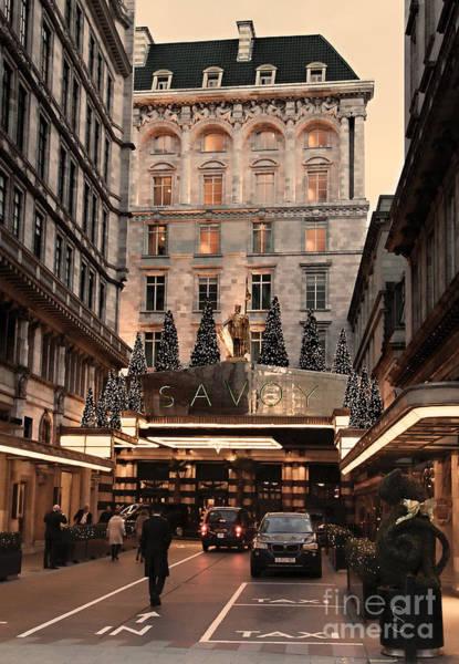 Luxury Hotel Photograph - London Scene 3 by Jasna Buncic