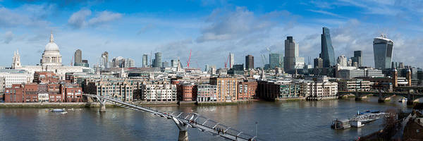 Photograph - London Skyline St Paul's And The City by Gary Eason