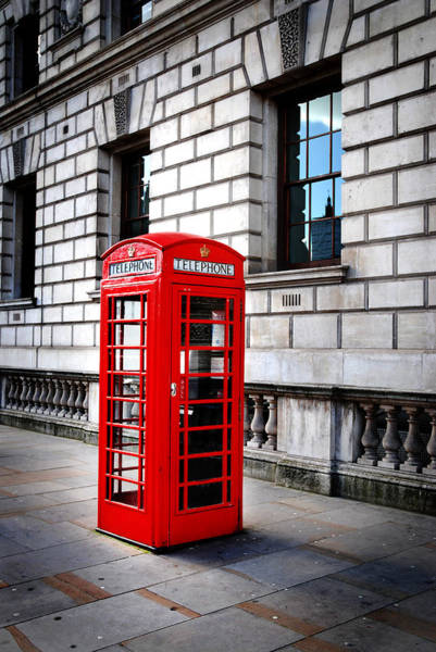 Wall Art - Photograph - London Telephone Box by Mark Rogan