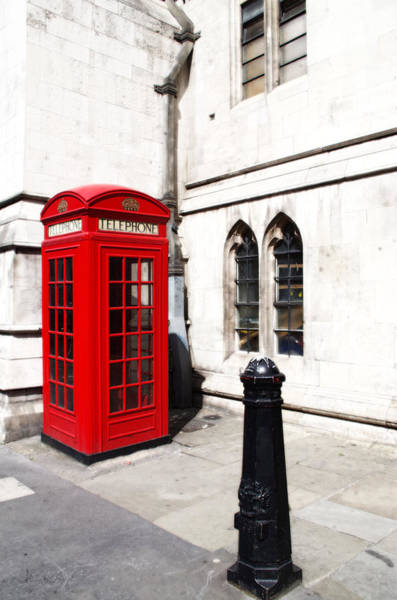 Photograph - London Telephone Box by Sharon Popek