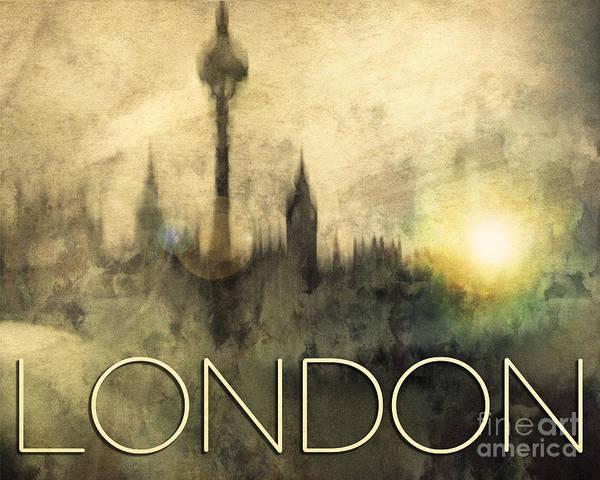Photograph - London Time by Edmund Nagele