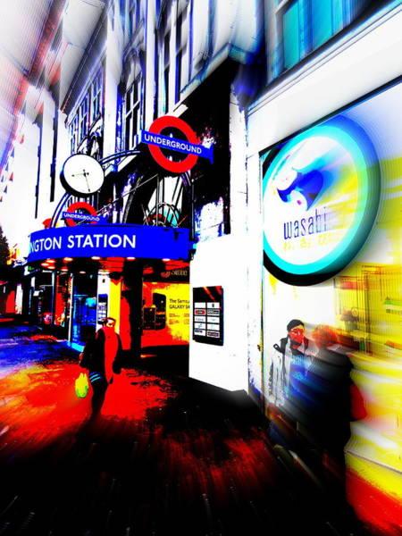 Wall Art - Photograph - London Tube Station by Funkpix Photo Hunter