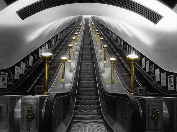 Photograph - London Underground by Andrew Fare