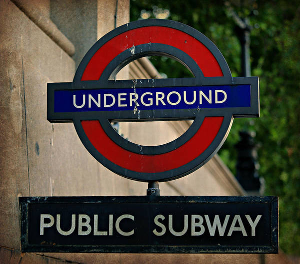 Wall Art - Photograph - London Underground No.1 by Stephen Stookey