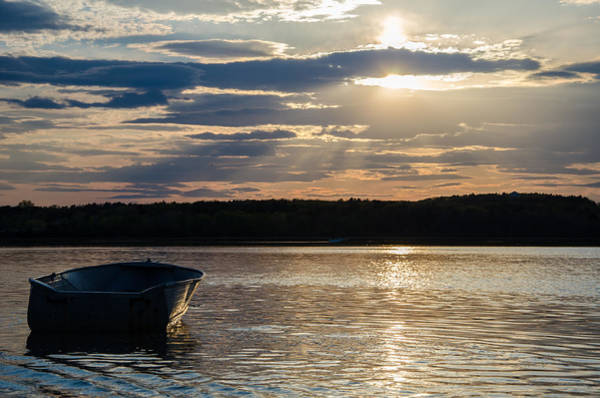 Cape Elizabeth Photograph - Lone Boat by Kristopher Schoenleber