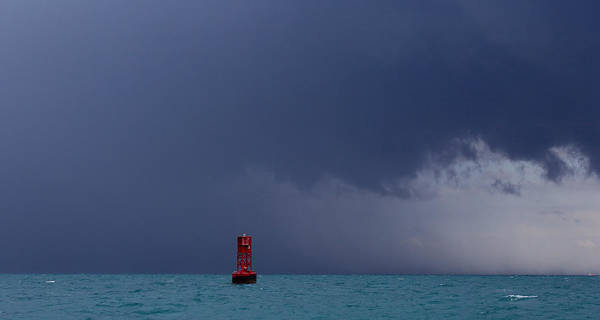 Photograph - Lone Buoy by Steven Lapkin