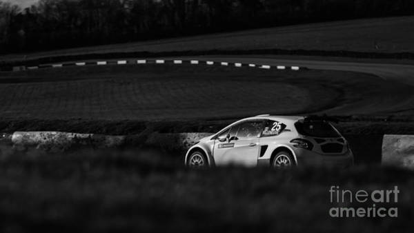 Rally Photograph - Lone Champion by Nigel Jones