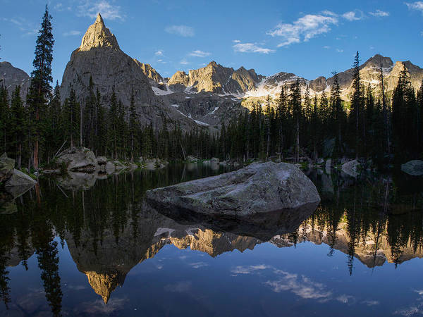 Indian Peaks Wilderness Photograph - Lone Eagle Cirque by Aaron Spong