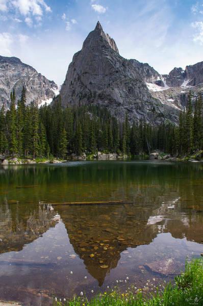 Indian Peaks Wilderness Photograph - Lone Eagle Peak - Vertical by Aaron Spong