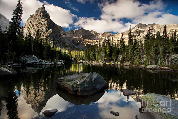 Indian Peaks Wilderness Photograph - Lone Eagle  by Steven Reed
