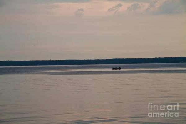 Photograph - Lone Fisherman by William Norton