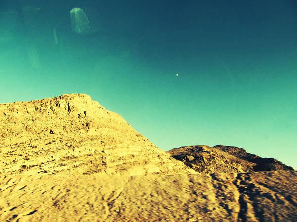 Mixed Media - Lone Mountain by Michelle Dallocchio