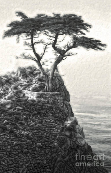 Painting - Lone Pine by Gregory Dyer