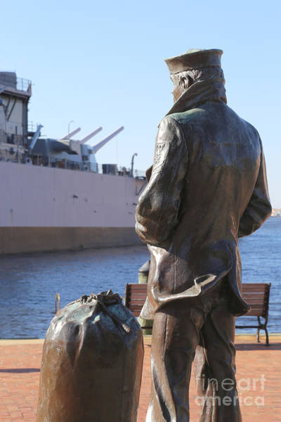 Wall Art - Photograph - Lone Sailor In Color by Dwight Cook