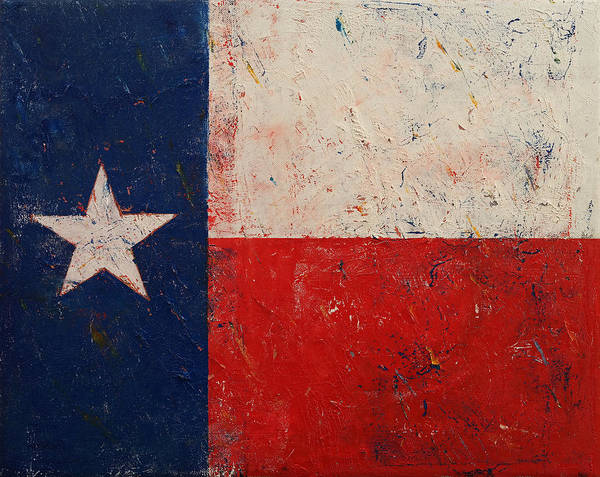 Lone Star Painting - Lone Star by Michael Creese