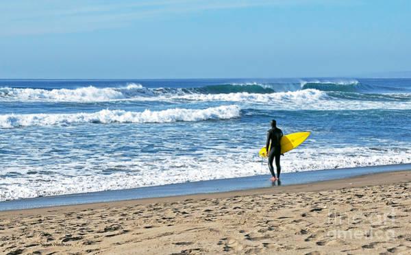 Photograph - Lone Surfer by Susan Wiedmann