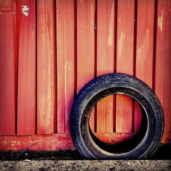 Wall Art - Photograph - Lone Tire by Julie Gebhardt