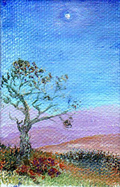Painting - Lone Tree by Regina Valluzzi