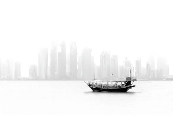 Wall Art - Photograph - Lonely Boat by Ahmed Lashin