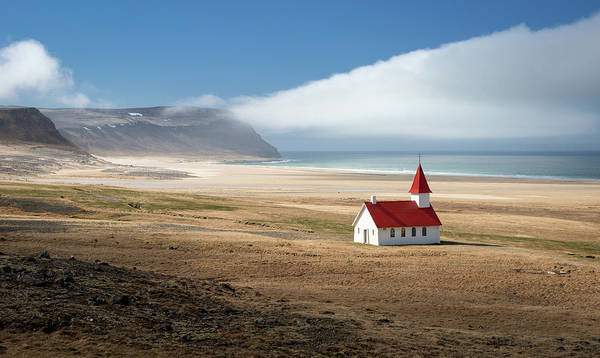 Church Photograph - Lonely Church by Kirill Trubitsyn