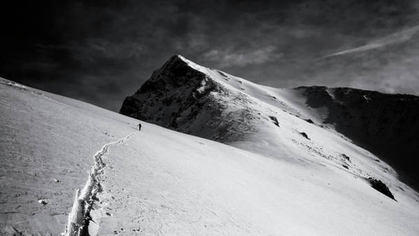 Wall Art - Photograph - Lonely Climber by Marcel Rebro