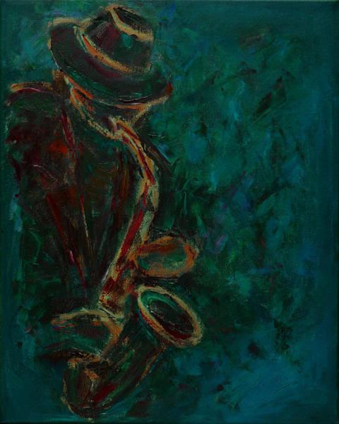 Lonely Jazz Art Print