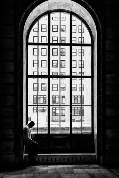 Tall Photograph - Lonely Man by Massimo Della Latta