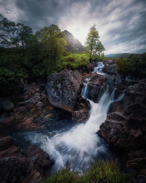 Glencoe Photograph - Lonely Mountain 3. by Juan Pablo De