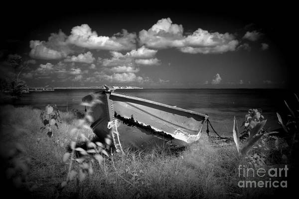 Dione Photograph - Lonely Old Boat by Dione Scotland Rivero