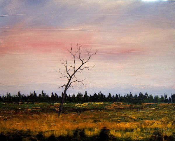 Painting - Lonely Place by William Renzulli
